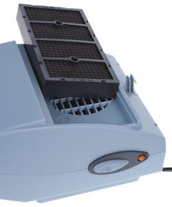 Solar energy ionizer car air purifier with HEPA filter purifier-in Gas Analyzers from Tools on
