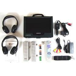 Audiovox  10-Inch Portable LCD DVD Player w/ TV - Thumbnail 1