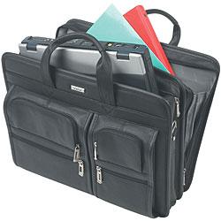 Solo Top-grain Leather 15.4-inch Portfolio Laptop Case