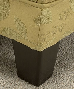 Green Leaf Welted Slipper Chair - Thumbnail 1