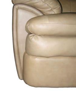 Cobblestone Leather Sofa and Loveseat