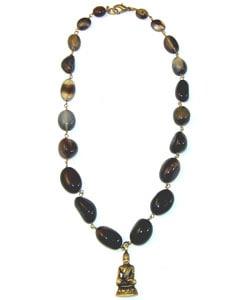 Inner Peace Buddha Necklace (India) - Thumbnail 1
