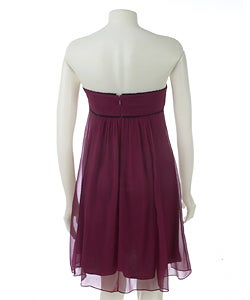 To The Max Strapless Babydoll Dress - Thumbnail 1