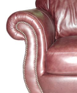 Remarkable Cinnamon Leather Sofa And Loveseat Overstock Com Shopping The Best Deals On Sofas Couches Alphanode Cool Chair Designs And Ideas Alphanodeonline