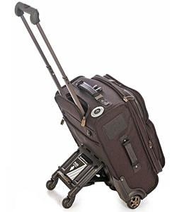 Atlantic Pro V 21-inch Quad Wheel Upright Suitcase - Thumbnail 1