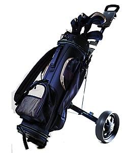 Shop Intech anium XL Aluminum Frame Golf Pull Cart - Free ... on