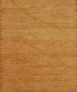 Safavieh Hand-knotted Gabeh Solo Caramel Wool Rug (6' x 9') - Thumbnail 1