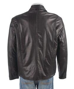 Izod Men's Leather Jacket