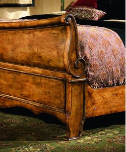 French Country California King Size Sleigh Bed Free