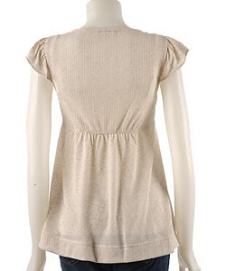 To The Max Knit Trapeze Top - Thumbnail 1