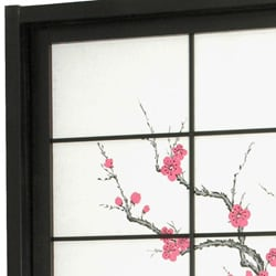 Cherry Blossom Shoji Sliding Door Kit (China) - Thumbnail 1