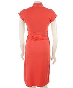 Max & Cleo Jersey Knit Wrap Dress