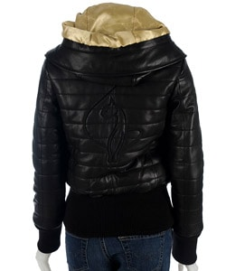 Shop Baby Phat Quilted Leather Jacket Free Shipping