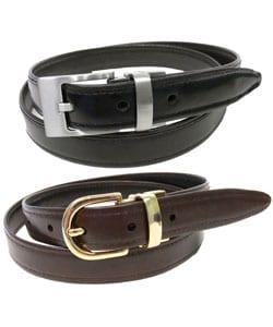 Geoffrey Beene Italian Leather Accessory Gift Set - Thumbnail 1