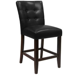 Metro Pub Bicast Leather 5-piece Dining Set