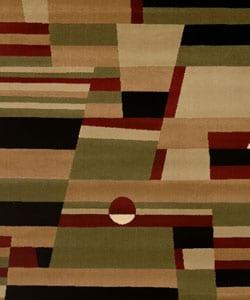 Admire Home Living Sorina Abstract Area Rug (7'9 x 9'6) - Thumbnail 1