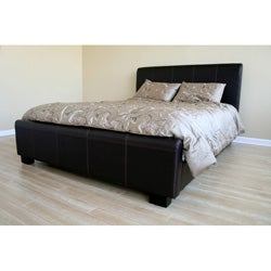 Dean Queen-sized Bicast Leather Platform Bed