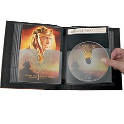 Small Cd Dvd Library Storage System Case Of 6 Free