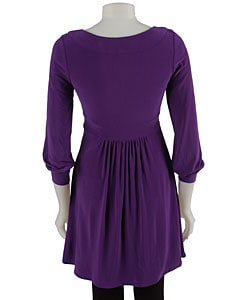 1cb71b2bd0114c Shop Essentials by A.B.S Empire Waist Tunic Dress - Free Shipping ...