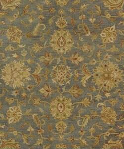Safavieh Handmade Antiquities Jewel Grey Blue/ Beige Wool Rug (9'6 x 13'6) - Thumbnail 1