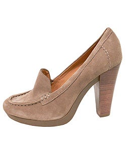 Shop Michael Kors Dolly Suede Chunky