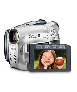 Canon DC100 DVD Camcorder w/25x Optical Zoom (Refurbished)