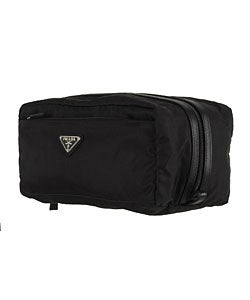 b4fb1a52b26e Shop Prada Men's Nylon Toiletry Case - Free Shipping Today ...