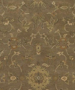Hand-tufted Camelot Collection Wool Rug (4' x 6') - Thumbnail 1