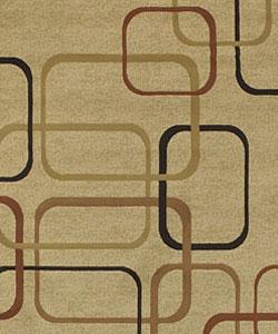 Everton Machine-made Heat-set Rug (3'9 x 5'9) - Thumbnail 1