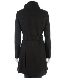 Esprit Women's Belted Trench Style Coat