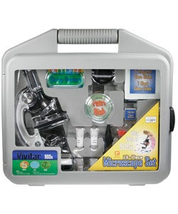 Vivitar 28-piece Microscope Set