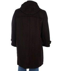 Claiborne Men's 3/4-length Toggle Coat - Thumbnail 1