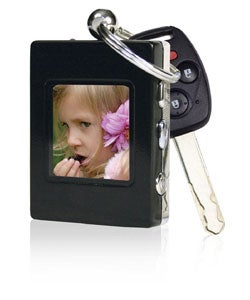 The Sharper Image Digital Photo Album Keychain - Thumbnail 1