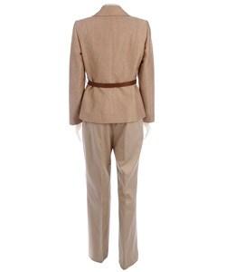 Tahari Women's Textured Spring Tweed Pant Suit - Thumbnail 1