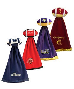 NCAA College Team Logo Snuggleball & Security Blanket - Thumbnail 1