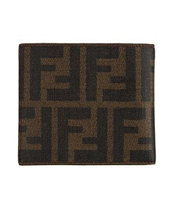 f255a49d2131 ... best price shop fendi mens brown zucca canvas bi fold wallet free  shipping today overstock 2871784