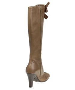 Bronx West Women's Knee High Lace Up Tie Boots - Thumbnail 1
