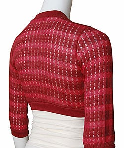 5-7-9 Junior's Crocheted Shrug Sweater