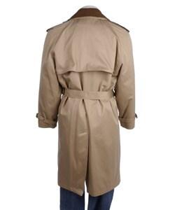 London Fog Men's 45-inch Gabardine Trench Coat
