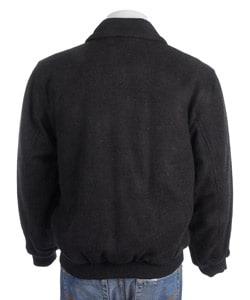 London Fog Men's Wool Bomber Jacket
