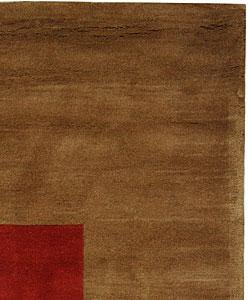 Safavieh Handmade Rodeo Drive Modern Abstract Multicolored Wool Rug (6' x 9') - Thumbnail 1