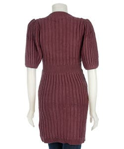 Shop To The Max Button Down Sweater Dress Free Shipping Today