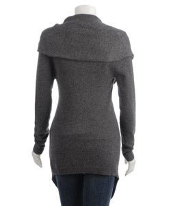 Sisters Cashmere Front Tie Sweater - Thumbnail 1