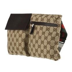 Gucci Jacquard Guccissima Logo Waist Bag Belt - Thumbnail 1