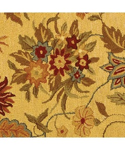 Safavieh Handmade Paradise Ivory Wool Rug (4' Round)