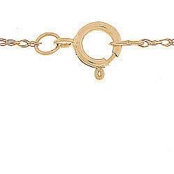 14k Gold Three-stone Citrine Necklace - Thumbnail 1