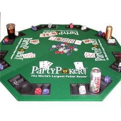... Party Poker Folding Poker Table Top ...