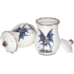 Amy Brown Fairy Hand-painted 5-piece Spice Jar Set