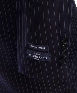 Austin Reed London Men S Navy Pinstripe Wool Suit Overstock 3078778