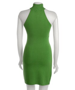 Sele Women's Sleeveless Mock Turtleneck Dress